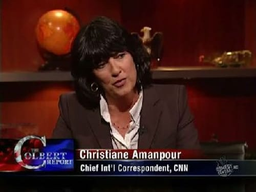 The Colbert Report: Season 5 – Episod Christiane Amanpour