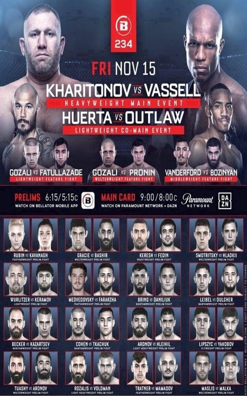 Bellator 234 Kharitonov vs. Vassell