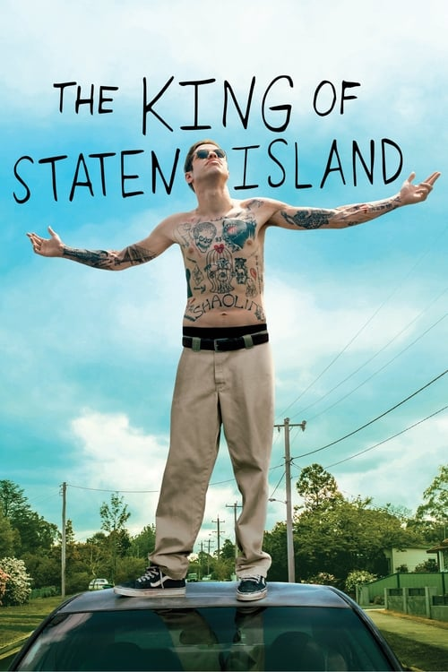 "Movie poster for ""The King of Staten Island""."