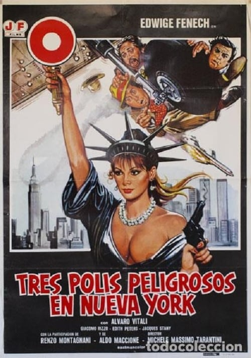 Película Tres polis peligrosos en Nueva York Doblado Completo