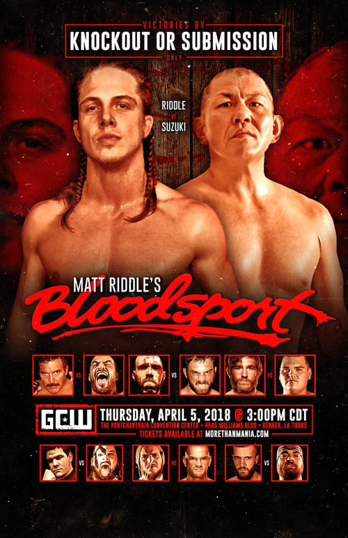 Watch Matt Riddle's Bloodsport Online 4Shared