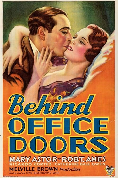 Streaming Behind Office Doors (1931) Movie Free Online