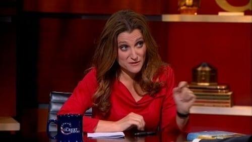 The Colbert Report: Season 9 – Episode Chrystia Freeland