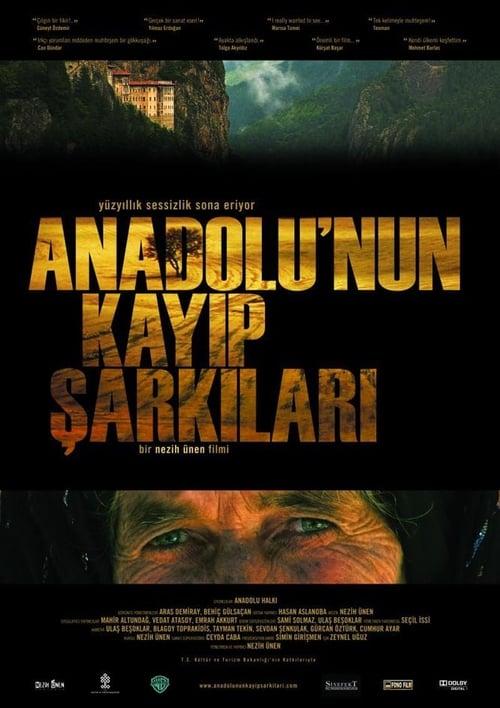 Lost Songs of Anatolia ( Anadolu'nun Kayıp Şarkıları )