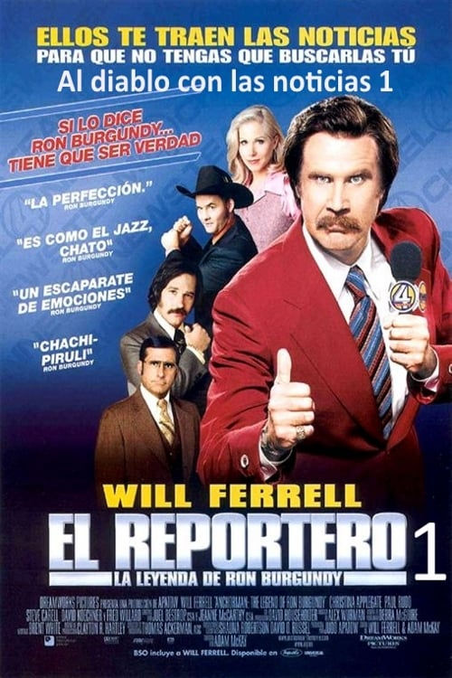 Anchorman: The Legend of Ron Burgundy pelicula completa