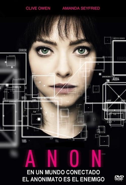 Película Anon En Español En Línea