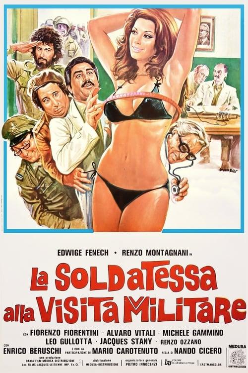 La soldatessa alla visita militare (1977)