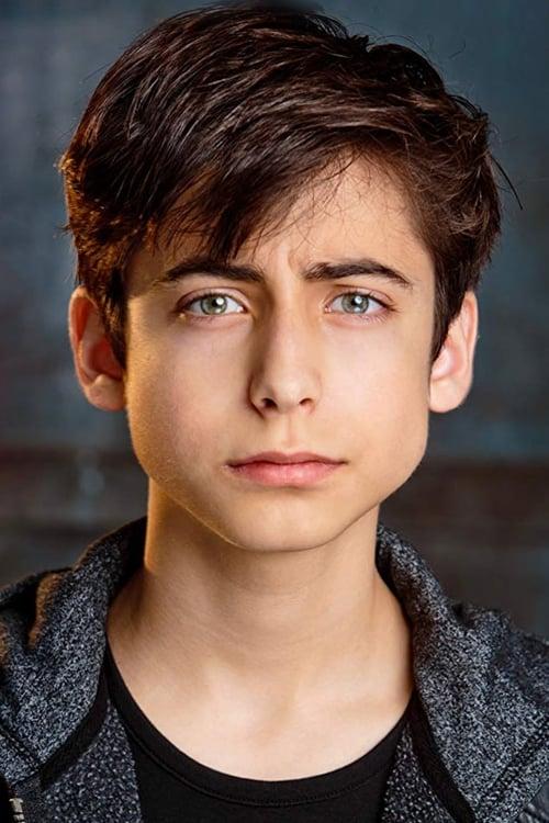 Kép: Aidan Gallagher színész profilképe