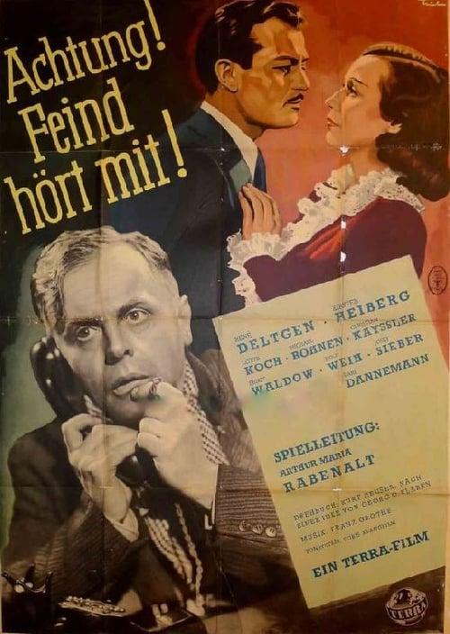 Sledujte Film Achtung! Feind hört mit! V Češtině Online