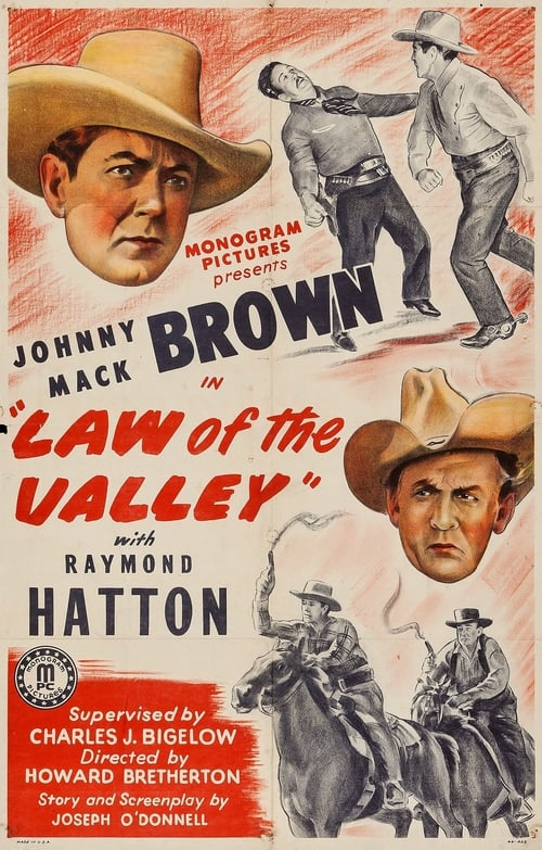 Ver pelicula Law of the Valley Online