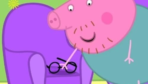 Peppa Pig Daddy Loses His Glasses 2004 Backdrops Stills The