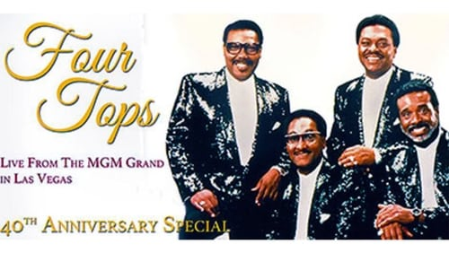 Four Tops Live From The MGM Grand in Las Vegas (1996) — The