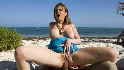 Naked woman wearing gag