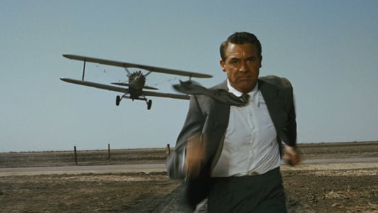 Famous plane attack scene from North by Northwest