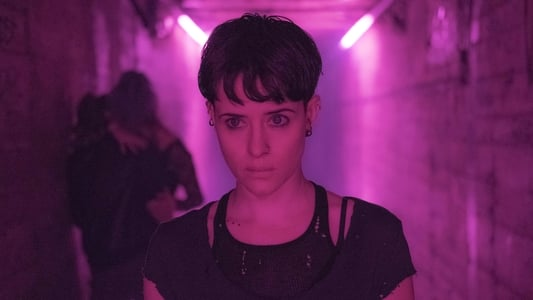 The Girl in the Spider's Web backdrop photo