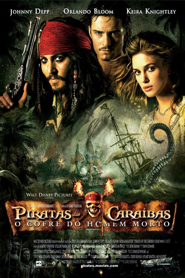 Assistir Piratas do Caribe: O Bau Da Morte Online