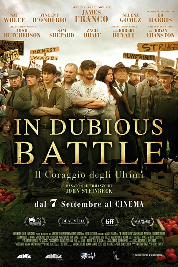 In Dubious Battle [Sub-ITA] (2016)