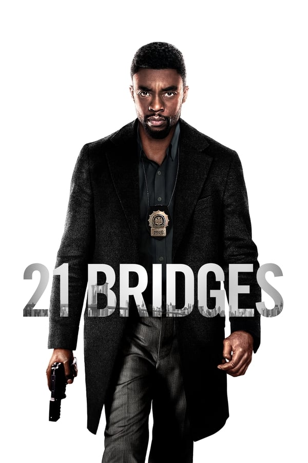 21 Bridges Movie Poster