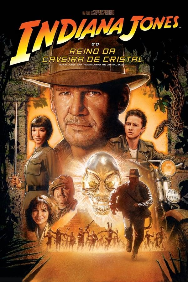 Assistir Indiana Jones e o Reino da Caveira de Cristal Online