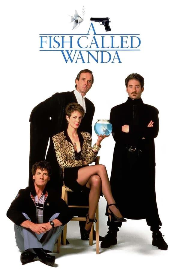 A Fish Called Wanda Movie Poster