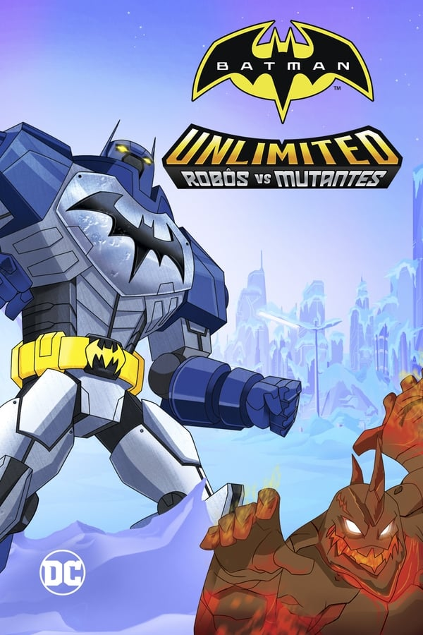 Assistir Batman Sem Limites: Mechas vs. Mutantes Online