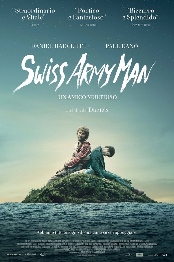 Swiss Army Man - Un amico multiuso [HD] (2016)