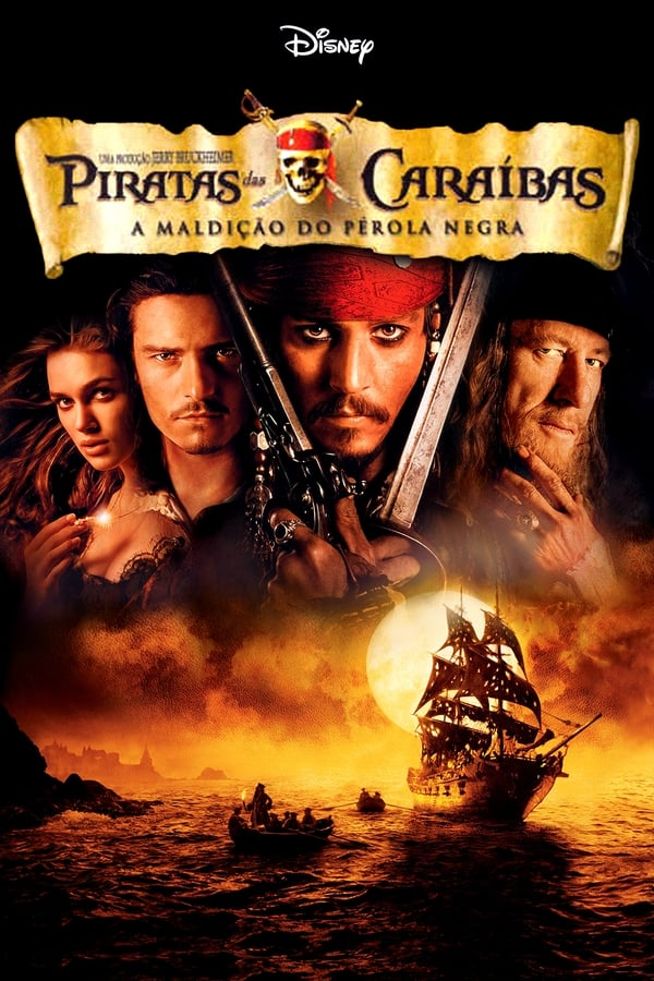 Assistir Piratas do Caribe: A Maldicao do Perola Negra Online
