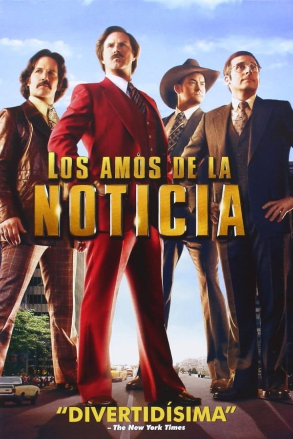 Los amos de la noticia (Anchorman 2: The Legend Continues) ()