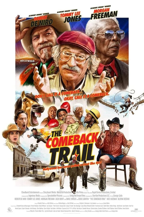 The Comeback Trail (2020) 720p HDCAM Dual Audio [Unofficial Dubbed] Hindi-English x264 AAC