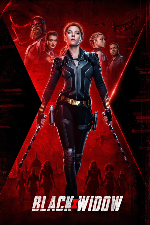 Marvels Black Widow Cover