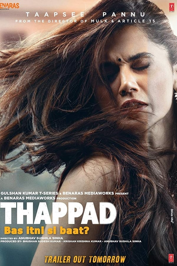 Thappad (2020) Hindi | x264 HQ Pre-DVD | 720p | 480p | Download