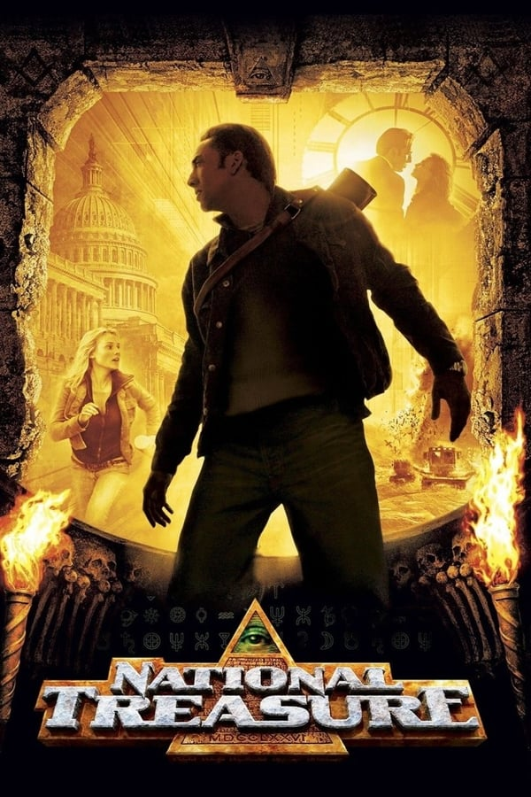 National Treasure (2004) Dual Audio [Hindi + English] | x264 Bluray | 720p | 480p | Download | Watch Online | GDrive | Direct Links