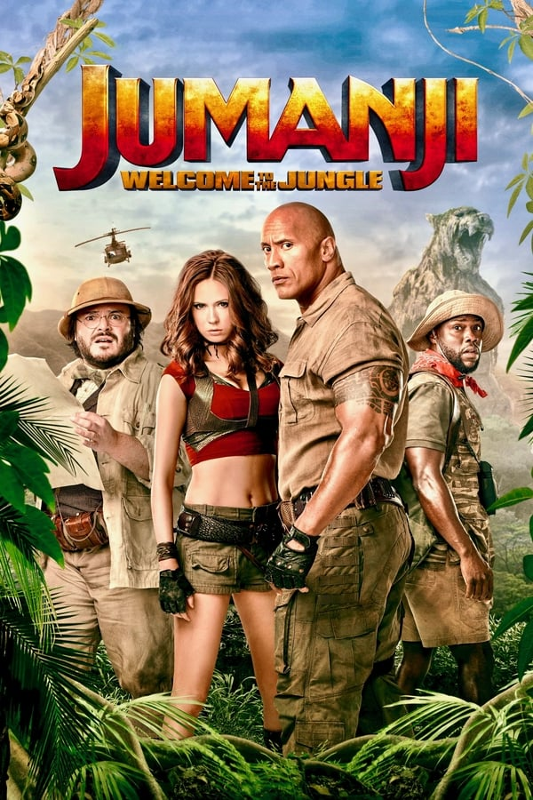 Jumanji: Welcome to the Jungle (2017) [Hindi 5.1 + English] | x264 10 Bit BluRay | 1080p | 720p | 480p | Download | Watch Online | GDrive | Direct Links