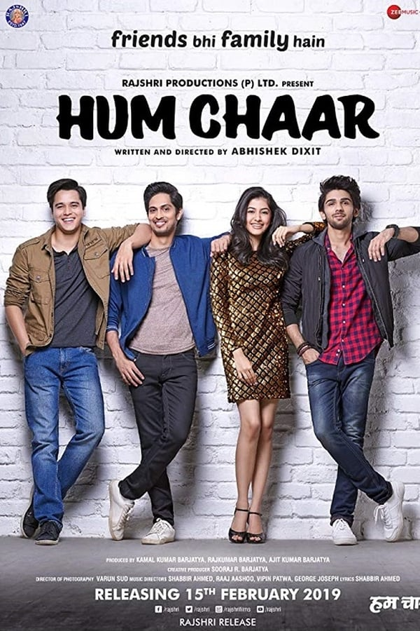 Hum Chaar (2019) Hindi Full Movie 1080p WEB-DL | 720p | 480p | 2 GB, 1 GB , 500 MB | Download | Watch Online | Direct Links | GDrive