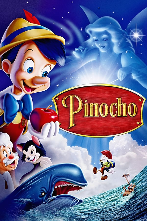 Pinocchio (1940) Full HD 1080p Latino – CMHDD