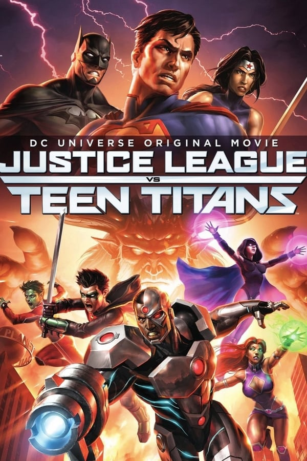 |FR| Justice League vs Teen Titans