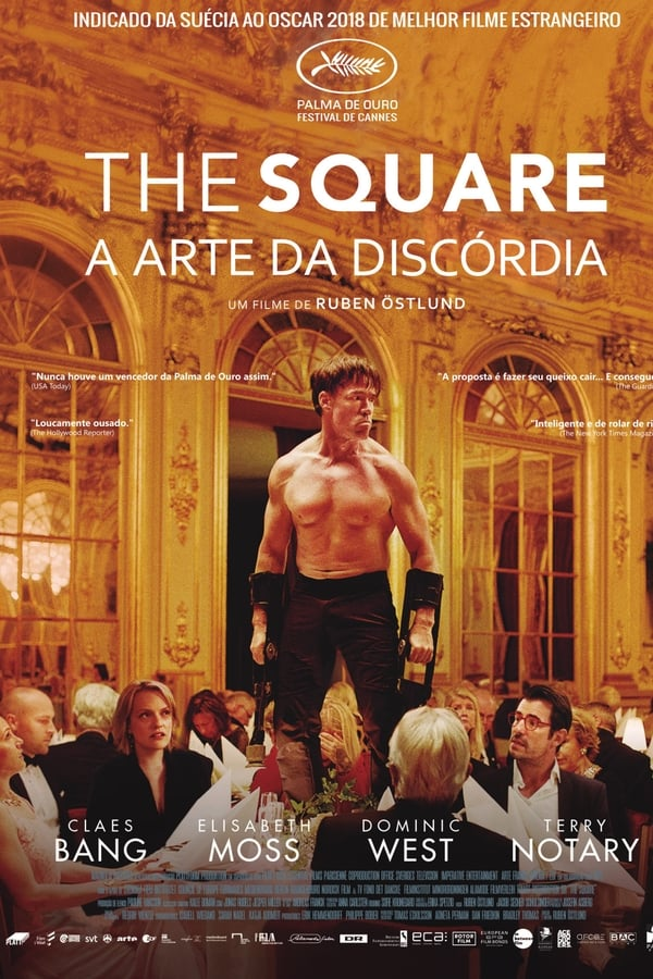 Assistir The Square: A Arte da Discórdia Online
