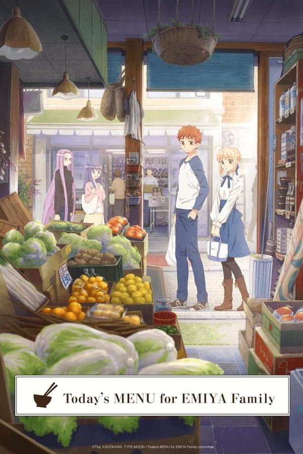 Assistir Today's Menu for the Emiya Family Online
