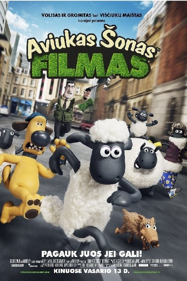 Aviukas Šonas. Filmas / Shaun the Sheep Movie (2015) online