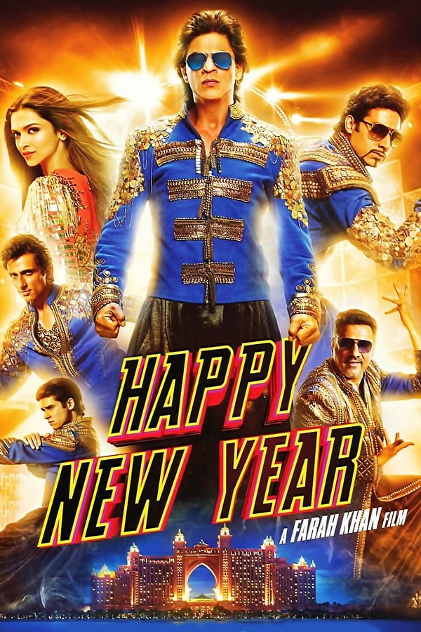 Happy New Year (2014) Hindi | x264 Blu-Ray | 1080p | 720p | 480p | Download | Watch Online | GDrive | Direct Links