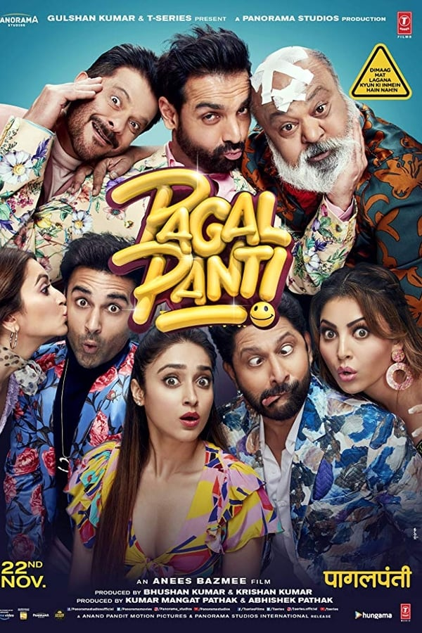 Pagalpanti (2019) Hindi Full Movie 720p HDCam | 480p | | 1.2 GB, 700 MB | Download | Watch Online | Direct Links | GDrive