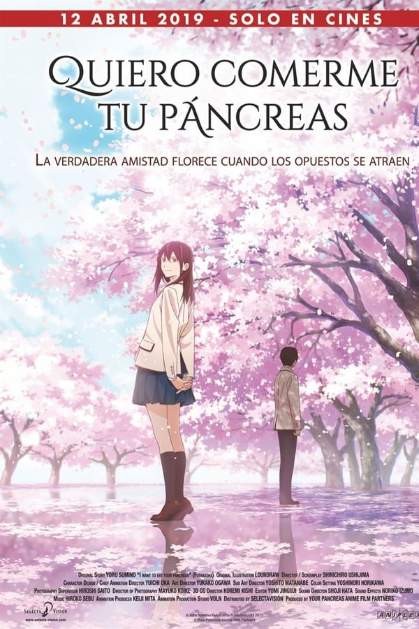 Quiero comerme tu páncreas (Let Me Eat Your Pancreas)