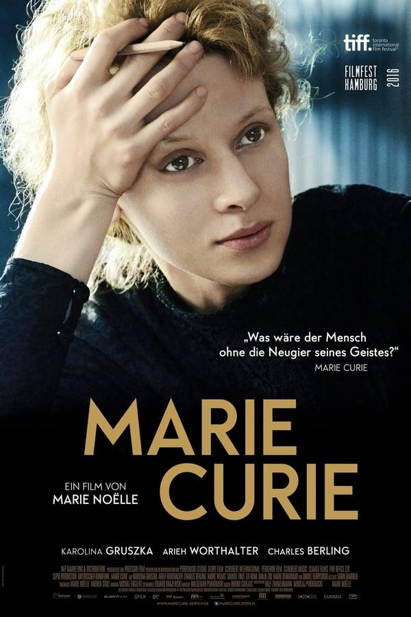 Plakat Marie Curie