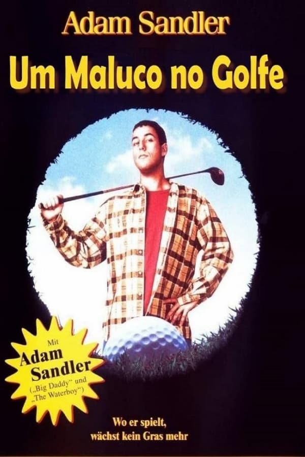 filme um maluco no golfe avi