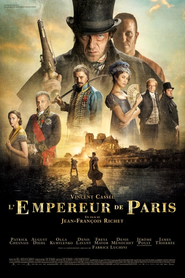 Baixar O Imperador de Paris (2019) Torrent Dublado via Torrent