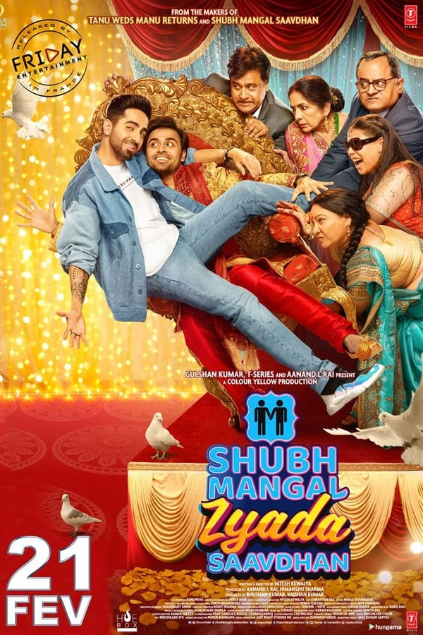 Shubh Mangal Zyada Saavdhan (2020) Hindi | x264 HQ Pre-DVD