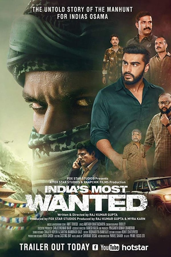 India's Most Wanted (2019) Hindi Full Movie 1080p WEB-DL | 720p | 1.3GB, 645MB | Download | Watch Online | Direct Links | GDrive