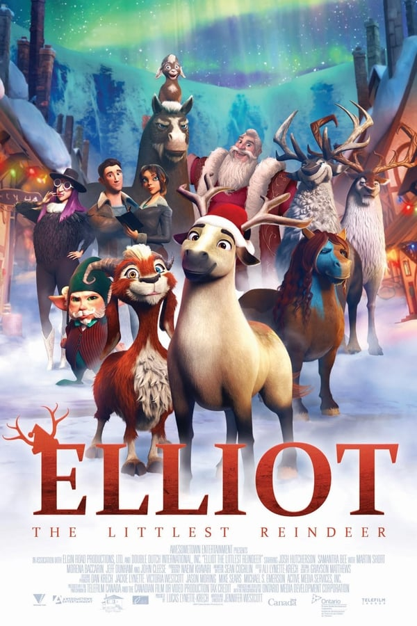 Elliot : le plus petit des rennes streaming