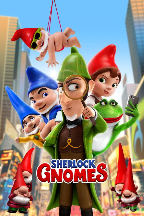 გნომეო და ჯულიეტა 2: შერლოკის გნომები / Gnomeo & Juliet: Sherlock Gnomes