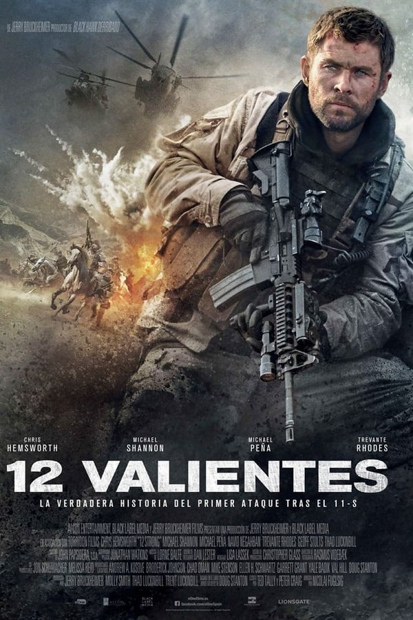 12 valientes (12 Strong)